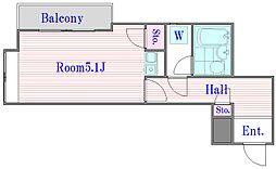 クリオときわ台ファースト[4階]の間取り