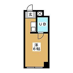 セザール新栄[5階]の間取り