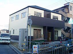 兵庫県姫路市飾磨区阿成の賃貸アパートの外観
