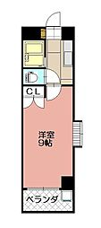 KMマンション八幡駅前II[412号室]の間取り
