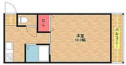 セラ徳島[6階]の間取り