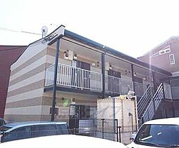 京都府京田辺市田辺中央2丁目の賃貸アパートの外観