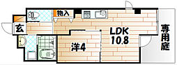 ソレイユ・ルヴァン赤坂[2階]の間取り