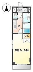 神奈川区三ッ沢上町 SEIMOPALACE I101号室[101号室]の間取り
