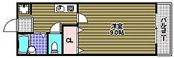 ヴィラロゼオ[3階]の間取り