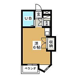 エクセランス新栄[5階]の間取り