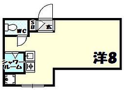富士ビル[1階]の間取り