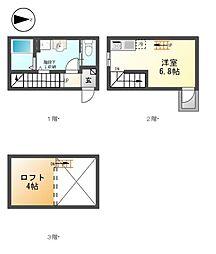 エクセルシアK-Ⅰ[1階]の間取り