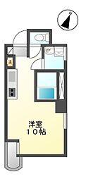 プチリヴェール昭和町[4階]の間取り