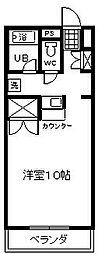 ソフィアライト[3-C号室]の間取り