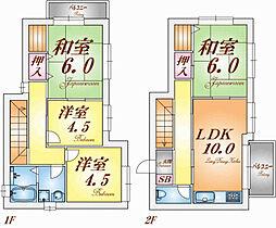 [一戸建] 兵庫県神戸市垂水区東垂水町字高丸 の賃貸【/】の間取り