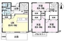 [一戸建] 静岡県三島市谷田 の賃貸【/】の間取り