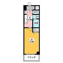 S−FORT上社[5階]の間取り