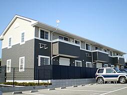 兵庫県明石市魚住町金ケ崎の賃貸アパートの外観
