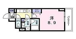 広尾ビューヒルズ[3階]の間取り