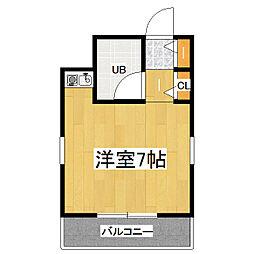 スペリオン京橋[4階]の間取り