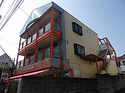 東京都国立市中3丁目の賃貸マンションの外観