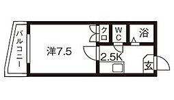 トレジャーハウス[2階]の間取り