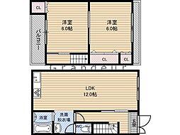JR片町線(学研都市線) 鴫野駅 徒歩3分の賃貸一戸建て