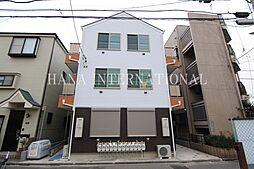 東京都足立区竹の塚5の賃貸アパートの外観