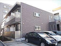 埼玉県草加市花栗4丁目の賃貸アパートの外観