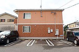 長崎県諫早市長野町の賃貸アパートの外観