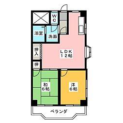 Youme(遊夢)II[4階]の間取り
