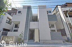 愛知県名古屋市南区明治1丁目の賃貸アパートの外観