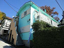 神奈川県横浜市神奈川区六角橋2の賃貸アパートの外観