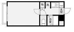 共立リライアンス豊田[1階]の間取り