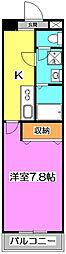 埼玉県ふじみ野市上福岡1丁目の賃貸マンションの間取り