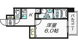 サムティ南堀江LUCE[11階]の間取り