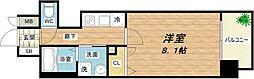 プレサンス堺筋本町駅前[9階]の間取り