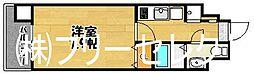 エンクレスト天神III[4階]の間取り