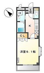 葉山レジデンス[2階]の間取り