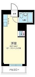 東京都大田区西馬込2の賃貸マンションの間取り