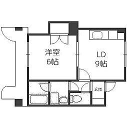 澄川4・3ビル[402号室]の間取り