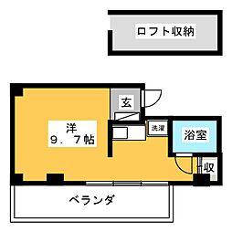 PIVOT静岡[10階]の間取り
