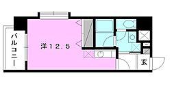 サンブロードHABU[507 号室号室]の間取り