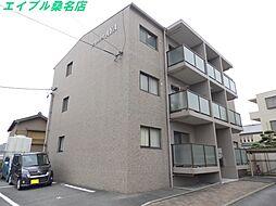 三重県桑名市長島町押付の賃貸マンションの外観
