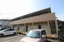 福岡県小郡市小板井の賃貸アパートの外観
