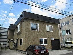 北海道札幌市東区北十条東11丁目の賃貸アパートの外観
