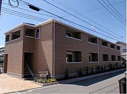 京都府京田辺市三山木西ノ河原の賃貸アパートの外観