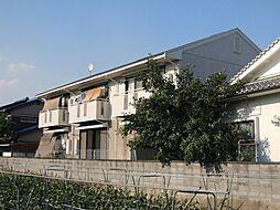 京都府京都市山科区西野岸ノ下町の賃貸アパートの外観