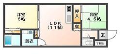 [一戸建] 大阪府豊中市庄内栄町4丁目 の賃貸【/】の間取り