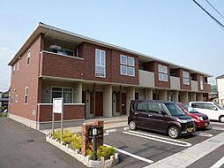 岡山県倉敷市東塚5の賃貸アパートの外観