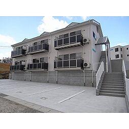 福島県郡山市富田町の賃貸アパートの外観