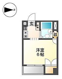 CH白壁[4階]の間取り