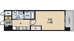 大阪府大阪市福島区海老江1の賃貸マンションの間取り