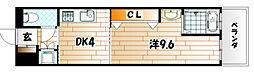 No.47 プロジェクト2100小倉駅[2階]の間取り